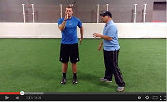 Football training video